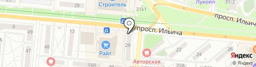 Магазин фруктов и овощей на карте Первоуральска