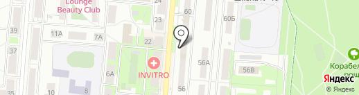 Обувной магазин на карте Первоуральска