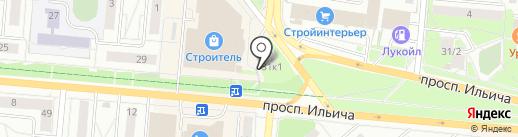 Магазин фастфудной продукции на карте Первоуральска