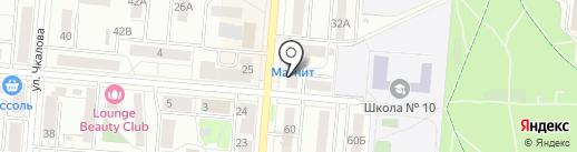 Формакс на карте Первоуральска