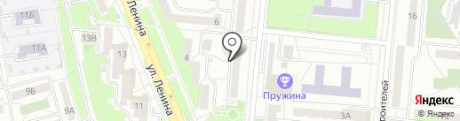 Даниловское на карте Первоуральска