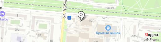 Мастерская по ремонту обуви и изготовлению ключей на карте Первоуральска