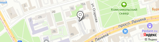 Toner-nt на карте Нижнего Тагила