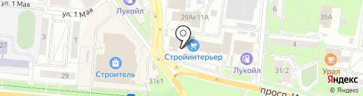 Банкомат, СКБ-банк, ПАО на карте Первоуральска