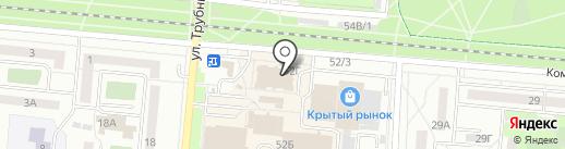 Флешкин на карте Первоуральска