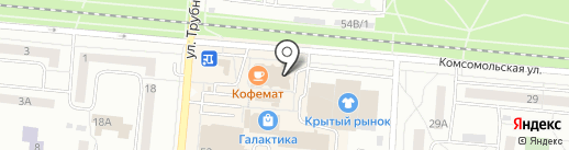 Элит на карте Первоуральска