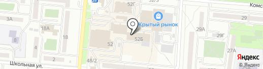 Швейное ателье на карте Первоуральска