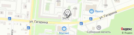 ЗАГС г. Первоуральска на карте Первоуральска