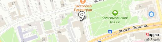 Офис-центр на карте Нижнего Тагила