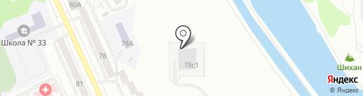 Приречная на карте Нижнего Тагила