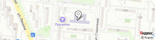 Лицей №21 на карте Первоуральска