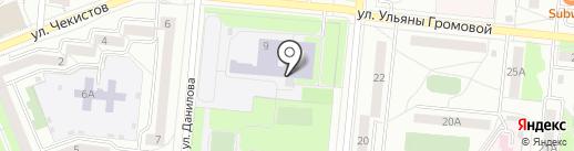Средняя общеобразовательная школа №7 на карте Первоуральска