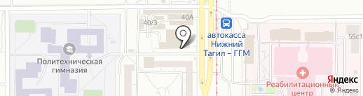Ювелирный магазин на карте Нижнего Тагила
