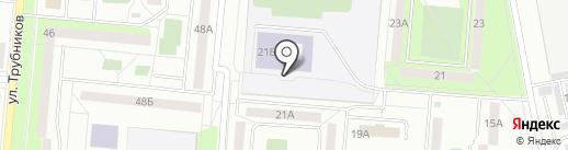 Средняя общеобразовательная школа №9 на карте Первоуральска