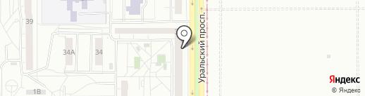 Ломбард Самоцвет Плюс на карте Нижнего Тагила