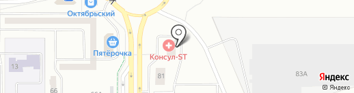 Нежнее шелка на карте Нижнего Тагила