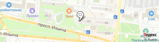 Comepay на карте Первоуральска