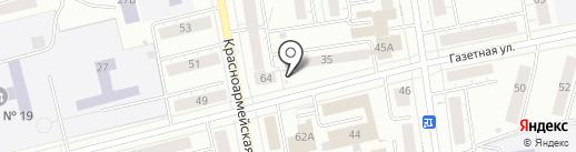 Уральская Пресса на карте Нижнего Тагила
