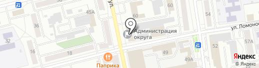 Управление архитектуры, градостроительства и землепользования Администрации Горноуральского городского округа на карте Нижнего Тагила