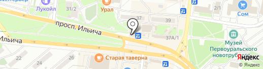 МТС на карте Первоуральска