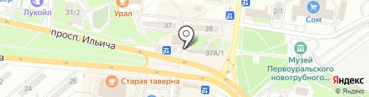 Медиа-магазин на карте Первоуральска