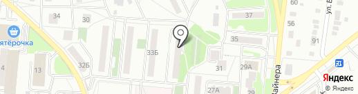 Отдел Управления Федеральной службы судебных приставов на карте Первоуральска