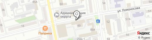 Консультант Плюс на карте Нижнего Тагила