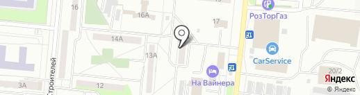 Лайт трэвел на карте Первоуральска