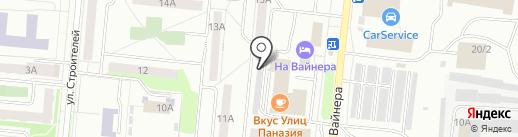 ФрешLine на карте Первоуральска