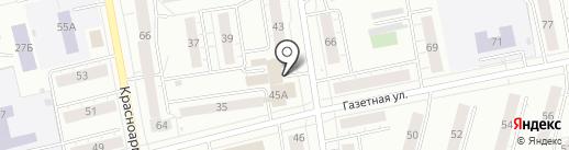 Теплотехник-НТ на карте Нижнего Тагила