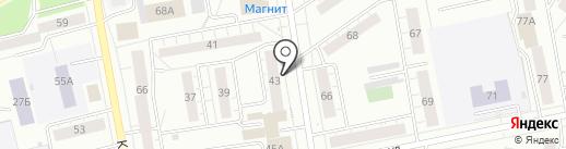 Единый учетный центр на карте Нижнего Тагила