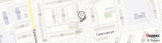 Служба заказчика городского хозяйства на карте Нижнего Тагила