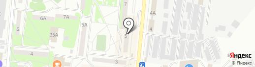 Почтовое отделение №2 на карте Первоуральска