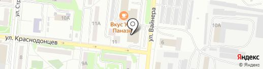 Прайскиллер TechnoPoint на карте Первоуральска