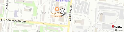 Кузов-маркет на карте Первоуральска