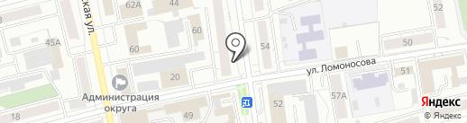 Секонд-хенд на карте Нижнего Тагила