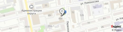 ТагилЛесСтройДеталь на карте Нижнего Тагила