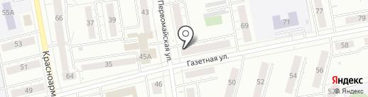 Магазин готовой оптики на карте Нижнего Тагила