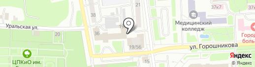 Дом предпринимателя на карте Нижнего Тагила