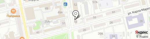 Главный Центр Специальной Связи, ФГУП на карте Нижнего Тагила