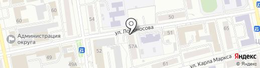 Бизнес-Партнер на карте Нижнего Тагила