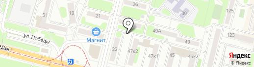 Мобильный пункт приема вторсырья на карте Нижнего Тагила