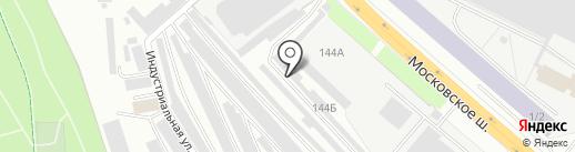 Спецавто на карте Первоуральска