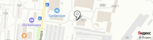 Авто-Рай на карте Первоуральска