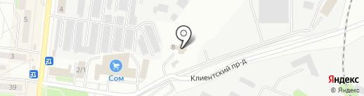 ИКС А на карте Первоуральска