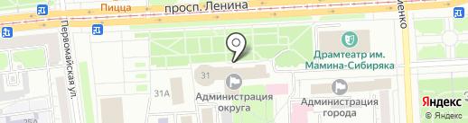 Компания АМБ ГРУПП на карте Нижнего Тагила