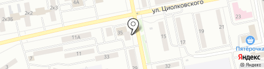 АвтоДеталь на карте Нижнего Тагила