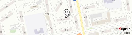 Пригородная Управляющая Компания, МУП на карте Нижнего Тагила