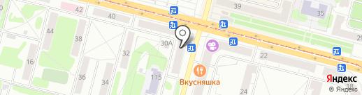 АвтоЭксперт-НТ на карте Нижнего Тагила