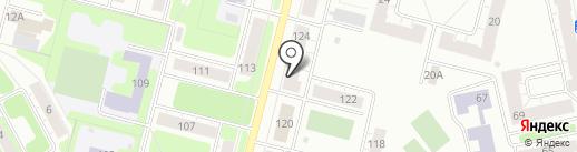 КАЛЕЙДОСКОП на карте Нижнего Тагила